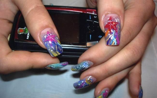 Дизайн ногтей художественный дизайн